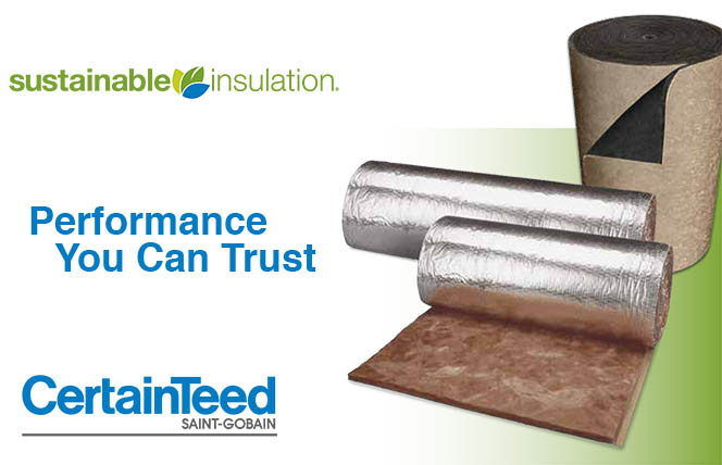 CertainTeed SoftTouch sustainable duct wrap and ToughGard R