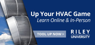 Up Your HVAC Game. Learn Online & In-Person. Tool Up Now. | Riley University